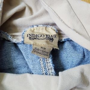 Indigo Blue Pants - Skinny maternity jeans. Small.